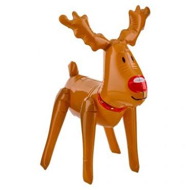 Reindeer Inflatable Christmas Figure £1 @ Poundland