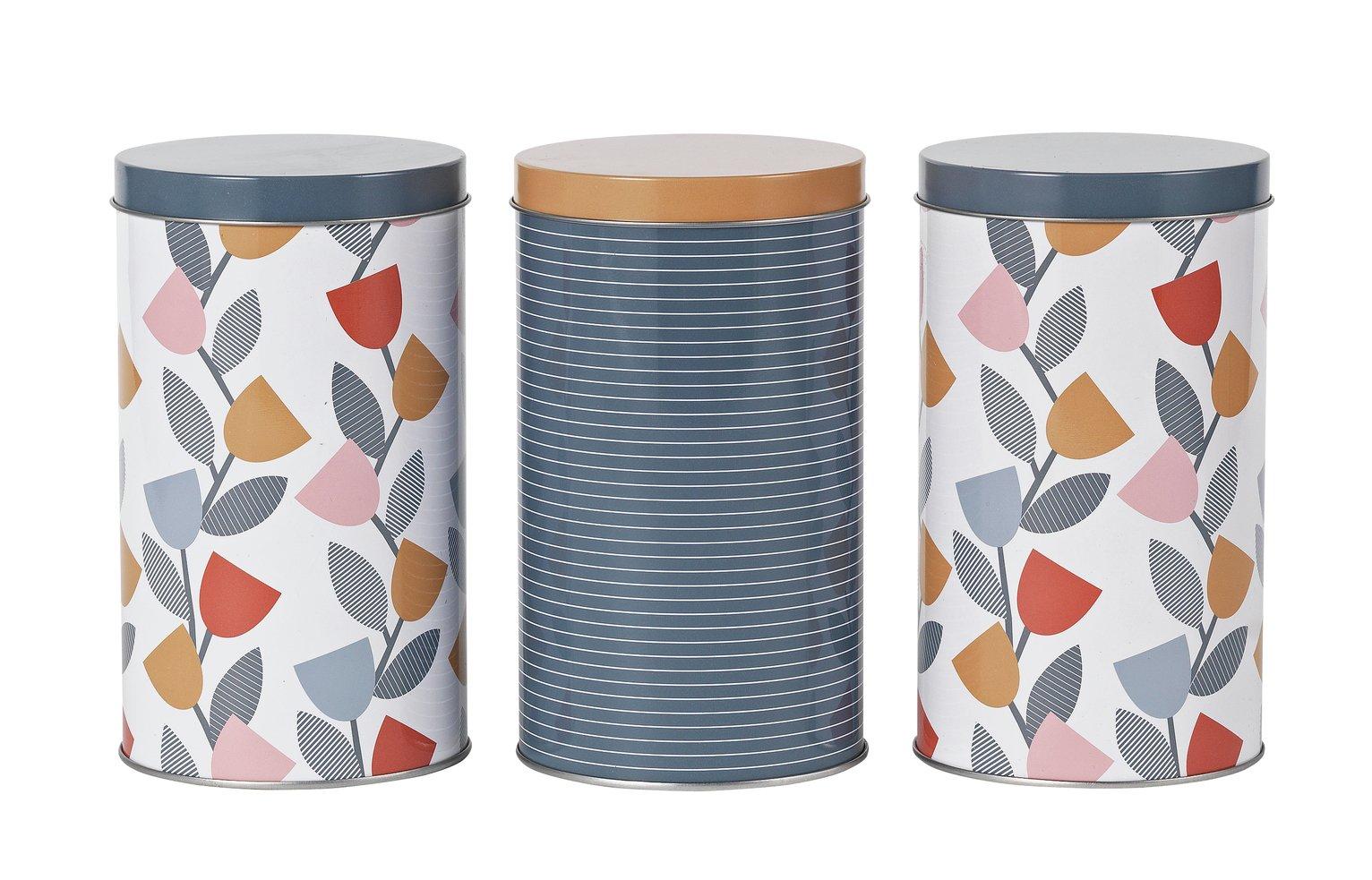 Argos Home Apartment Apparel Storage Tins - 3 Pack £7.50