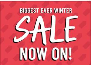The Book People winter sale