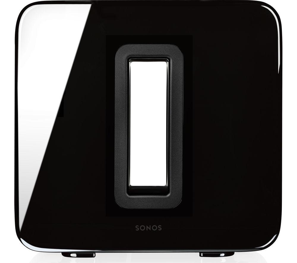 SONOS SUB Wireless Subwoofer, Black + 6 months Spotify Premium + £5 Voucher - £465 @ Currys PC World