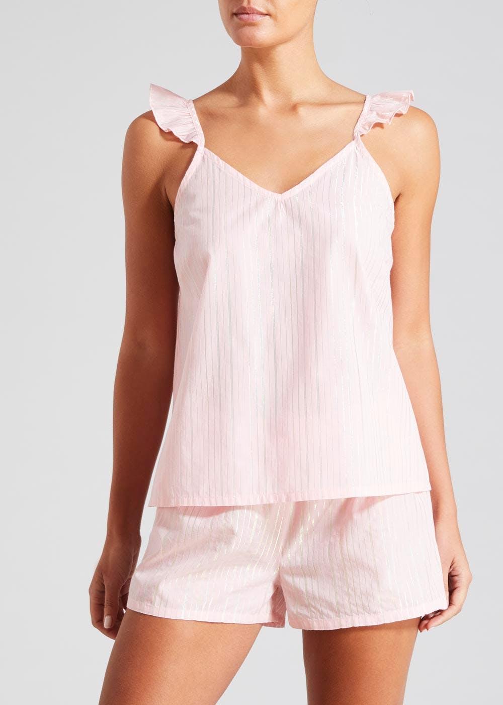 Shimmer Stripe Short Pyjamas Set, Sizes 14, 16, Now £4 @ Matalan ( Free Click & Collect )