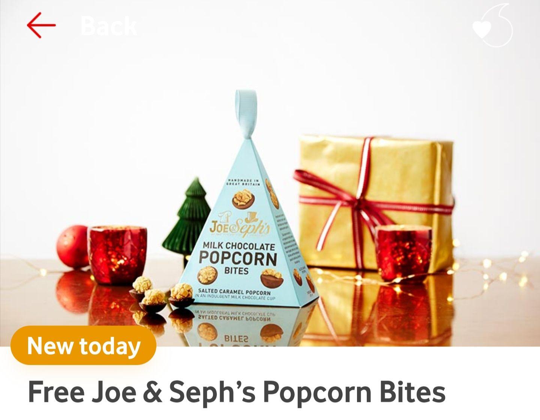 VeryMe - Free Joe & Seph's Popcorn Bites (£3.15 p&p)