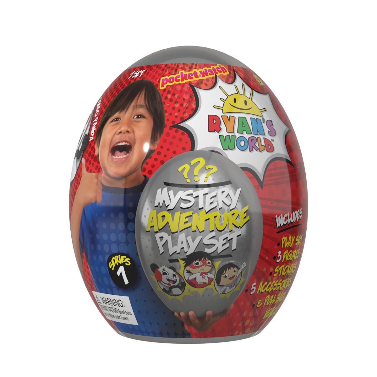 Ryan's World Mystery egg Playset - £35 instore @ Asda Cardiff