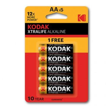 Kodak Xtralife Alkaline AA 4+2 - £1 at Poundland