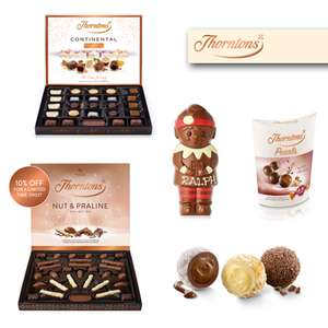 Thorntons Code Stack - 3 for 2 on Chocolate Gifts + 15% Discount + Free Christmas Selection On £30+ Spend & Free Delivery on £15+ Spend