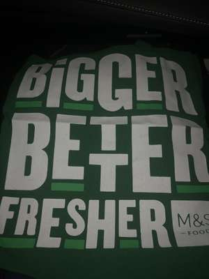 Free bag for life at Marks & Spencer Hedge End food hall grand opening