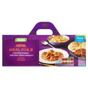Asda - Indian meals for 2 1320g only £4.75