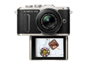 Olympus PEN E‑PL8 1442 II R camera kit with M.Zuiko Digital 45mm F1.8 add on for £299 delivered @ Olympus Shop