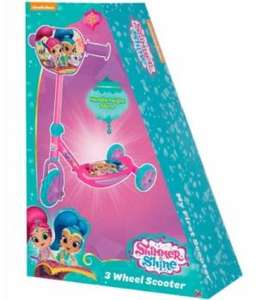 Shimmer & Shine 3 Wheel Scooter B&M £5 (Victoria Park store in Nottingham)