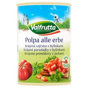 Valfrutta Chopped Tomatoes with herbs (pack of 6) £1.49 @ ALDI