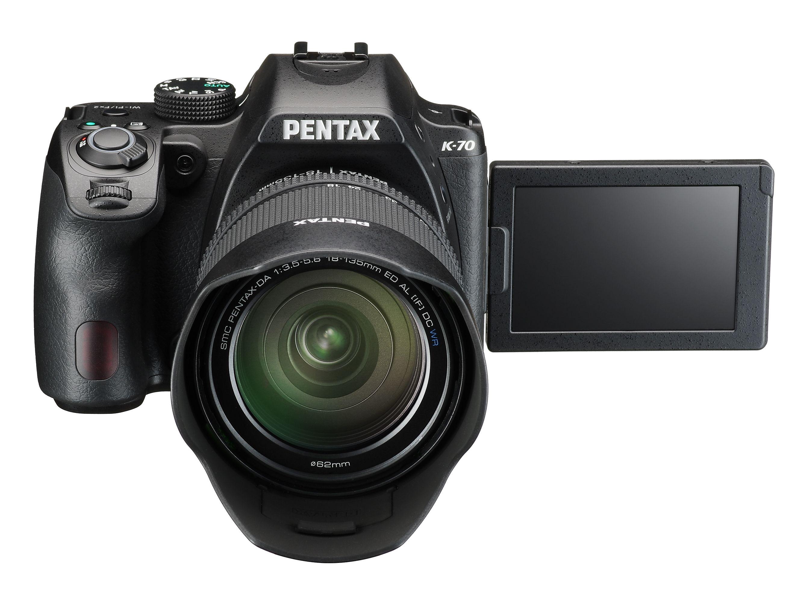 Pentax K70 + 18 - 50mm WR + 50 - 200mm WR £599 @ Bristol Cameras