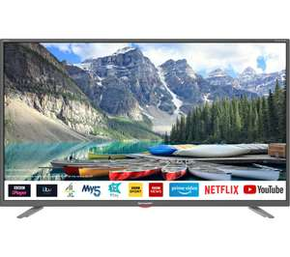 """SHARP 2T-C40BG3KG2FB 40"""" Smart Full HD LED TV - £199 @ Currys"""