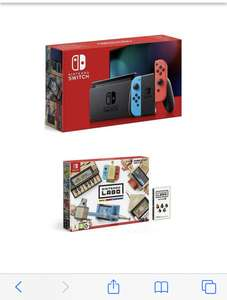 Nintendo Switch with labo pack plus choice of 3 games. £279 + free Click and Collect From very