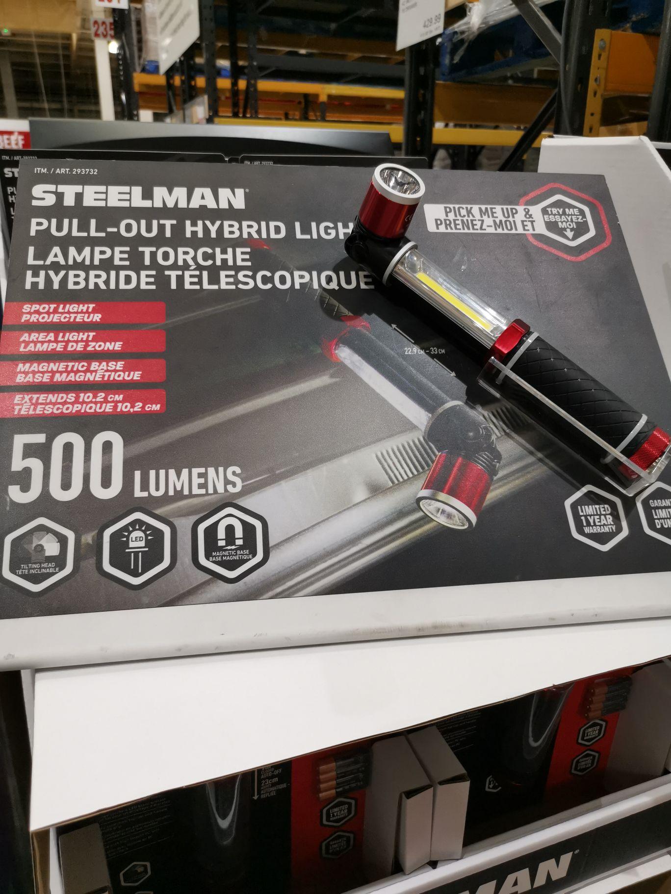 Steelman Pull-out Hybrid Light £11.99 @ Costco