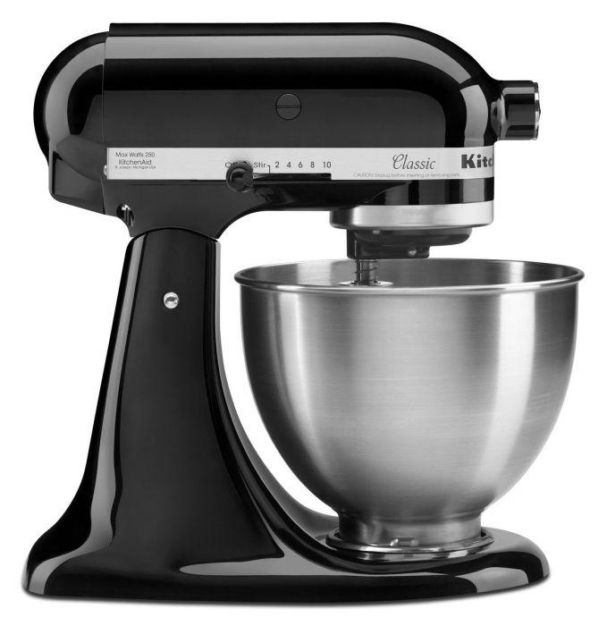 KitchenAid 4.3L Classic Stand Mixer Onyx Black 5K45SSOB - £239 delivered @ Beales