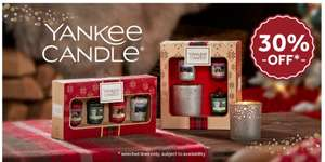 Yankee Candles 30% off @ Clinton Cards