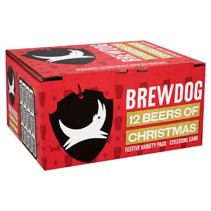 Brewdog 12 beers of Christmas now £15 at ASDA