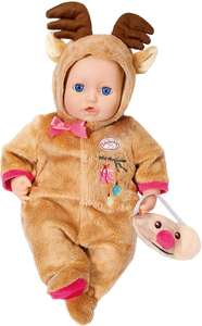 Baby Annabell 701157 Deluxe Set Reindeer Dolls Clothing - £9.99 @ Amazon Prime (+£4.49 non-Prime)