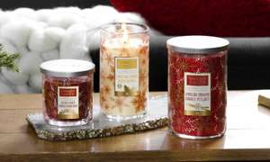 4 FOR £48 FESTIVE LARGE JAR CANDLES @ Yankee Candle Shop
