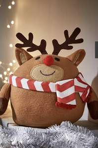 Fat Reindeer Room Decoration or Santa Room Decoration - £8.99 with click and collect at Very (or add £3.99 standard delivery)