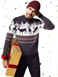 All Burton Christmas Jumpers now reduced to £10 at Burton