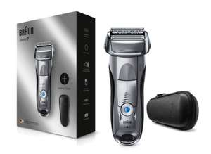 Braun Series 7 Electric Wet & Dry Shaver for Men 7893PS, with Travel Case – Silver £99.99 at Boots Shop