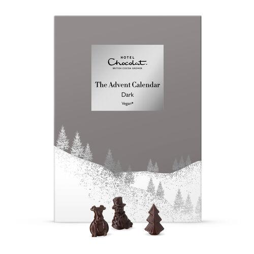 The Advent Calendar – Dark Chocolate (Vegan) £7.70 delivered at Hotel Chocolat