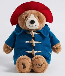 Paddington Bear back in stock £8.40 @ Marks & Spencer click and collect
