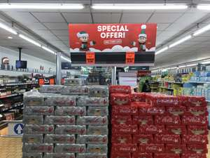 £10 for 2 cases Coca Cola (40 x 330ml cans) @ Lidl