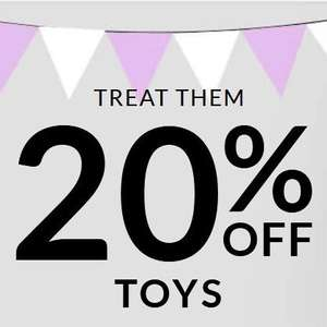 20% off ALL TOYS instore and online at ASDA