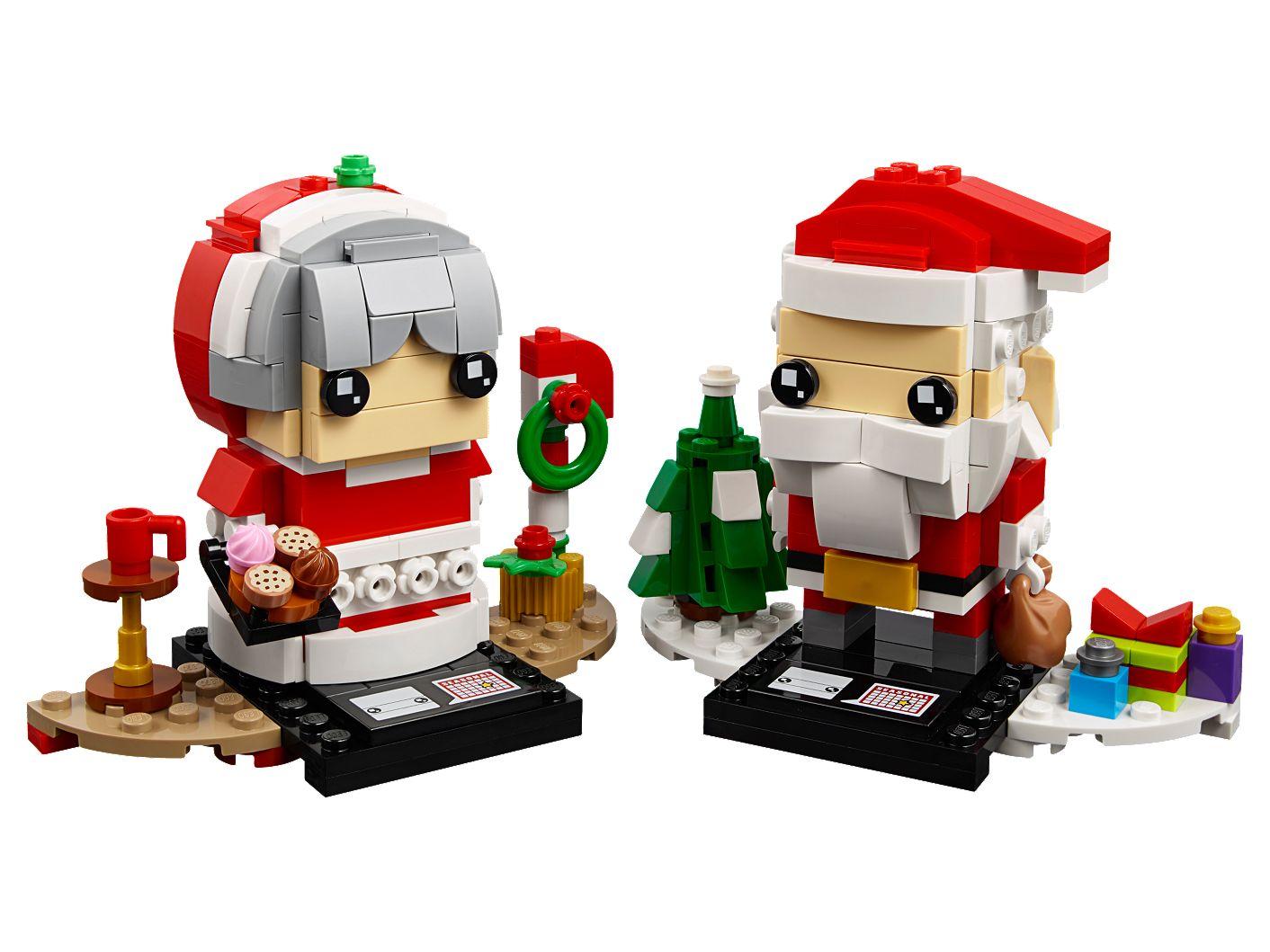 LEGO Brickheadz Mr Claus & Mrs Claus £8 @ Asda
