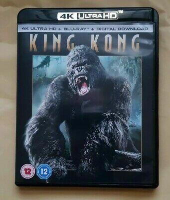 King Kong (4K Ultra HD + Blu-ray + Digital Download) [UHD] new/sealed £5.89 @ cardboardstory4 / ebay