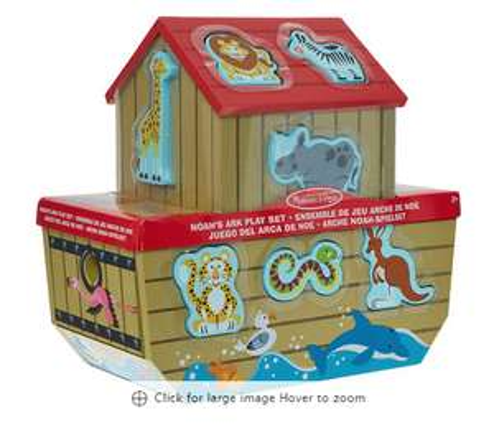 Melissa & Doug Noah's ark play set down to £16.00 (+ £1.99 Delivery) @ TK Maxx