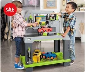 Little Tykes Construction Smart Workbench - £84.99 @ Little Tikes Shop