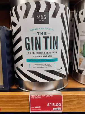 The Gin Tin Gift Set - £15 in store @ M&S Oxford Circus, London