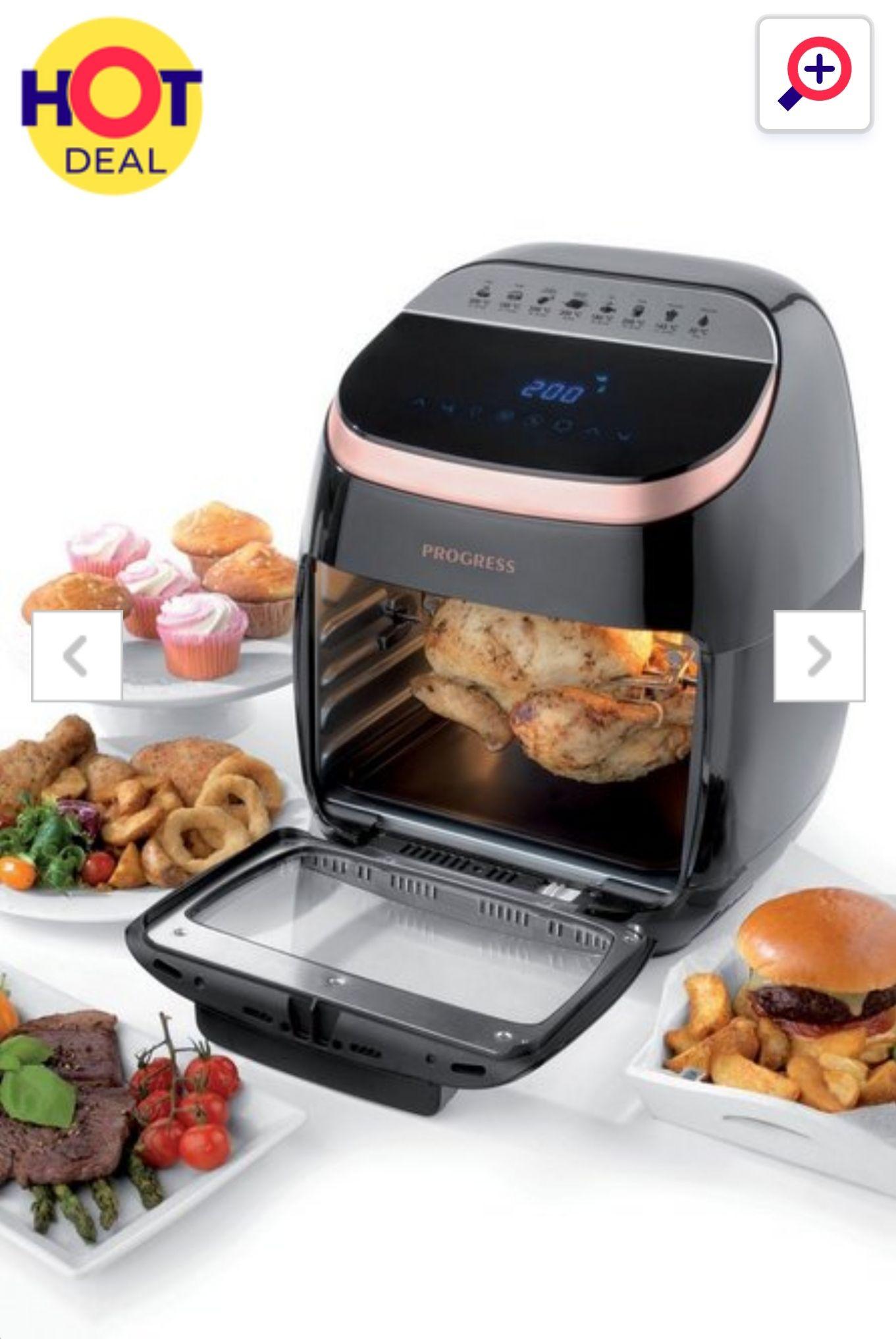 11ltr Progress Digital XL Aircook Air Fryer at Studio for £69.99