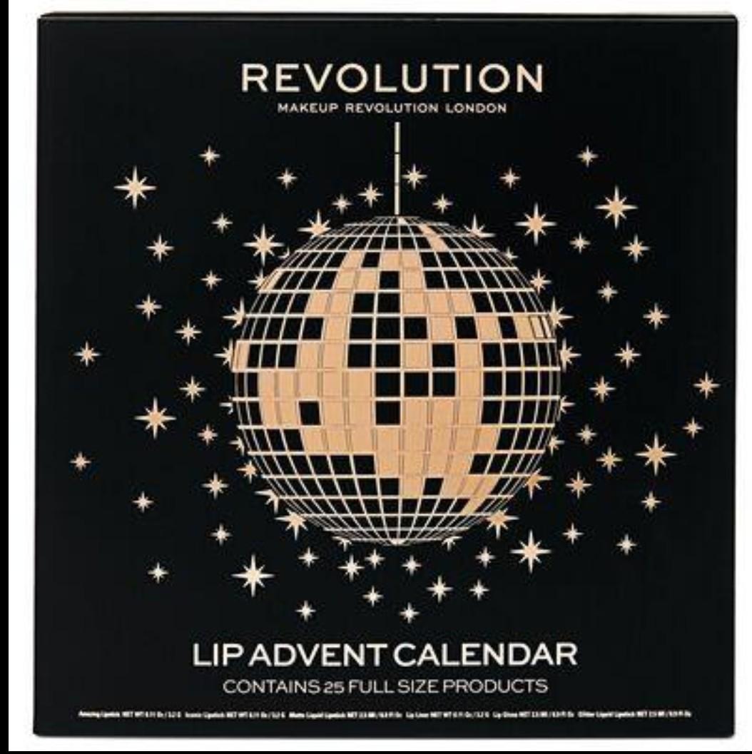 Makeup Revolution Lip Advent Calendar £10 B&M Retail