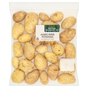 Any 3 for £1 (or 40p each) - 2.5kg Maris Piper Potatoes - Carrots 1kg - Sprouts 500g - Whole Swede - Parsnips 500g @ Morrisons
