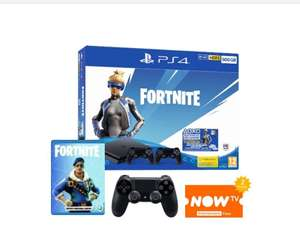 Sony PlayStation 4 Fortnite Neo Versa Bundle + 2000 VBucks + Extra Controller + Division 2 Game + NOW TV 2 Months Pass - £199 @ Game