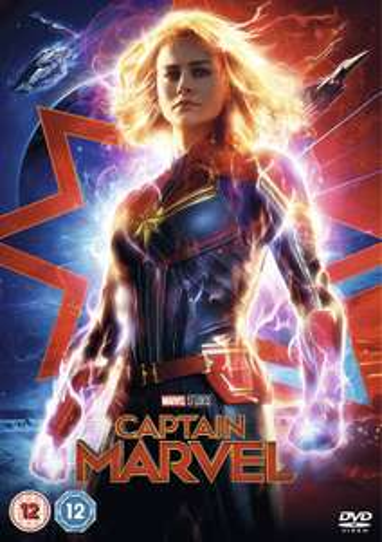 Captain Marvel Blu-Ray £8.49 @ Amazon Prime / £11.48 Non Prime