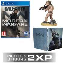 Call Of Duty Modern Warfare + GAME Exclusive 2XP COD MW Steelbook Call of Duty: Captain Price Figurine @game £47.99