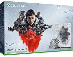 Microsoft Xbox One X 1TB with Gears 1 - 5 or Hyperspace Limited Edition Bundle + 2 Months NOW TV - £279 @ Game