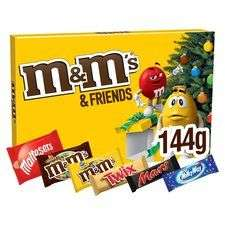 2 packs of M&M &friends selection boxes 144g for £3 @ tesco