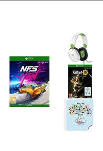 NFS HEAT + turtle beach recon 70x + fallout 76 special edition £55.99 Amazon
