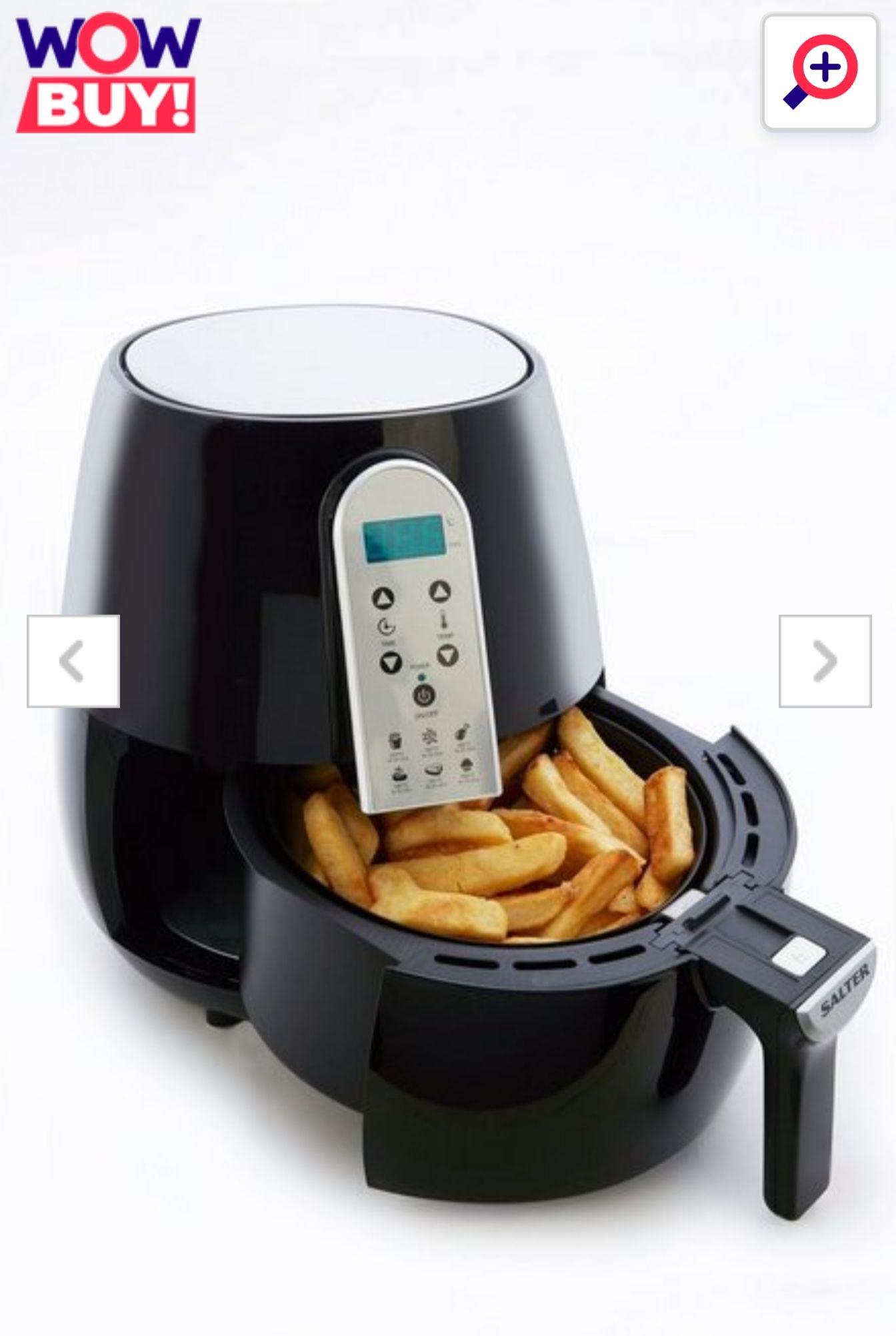 Salter XL Digital Hot Air Fryer @ Studio for £44.99