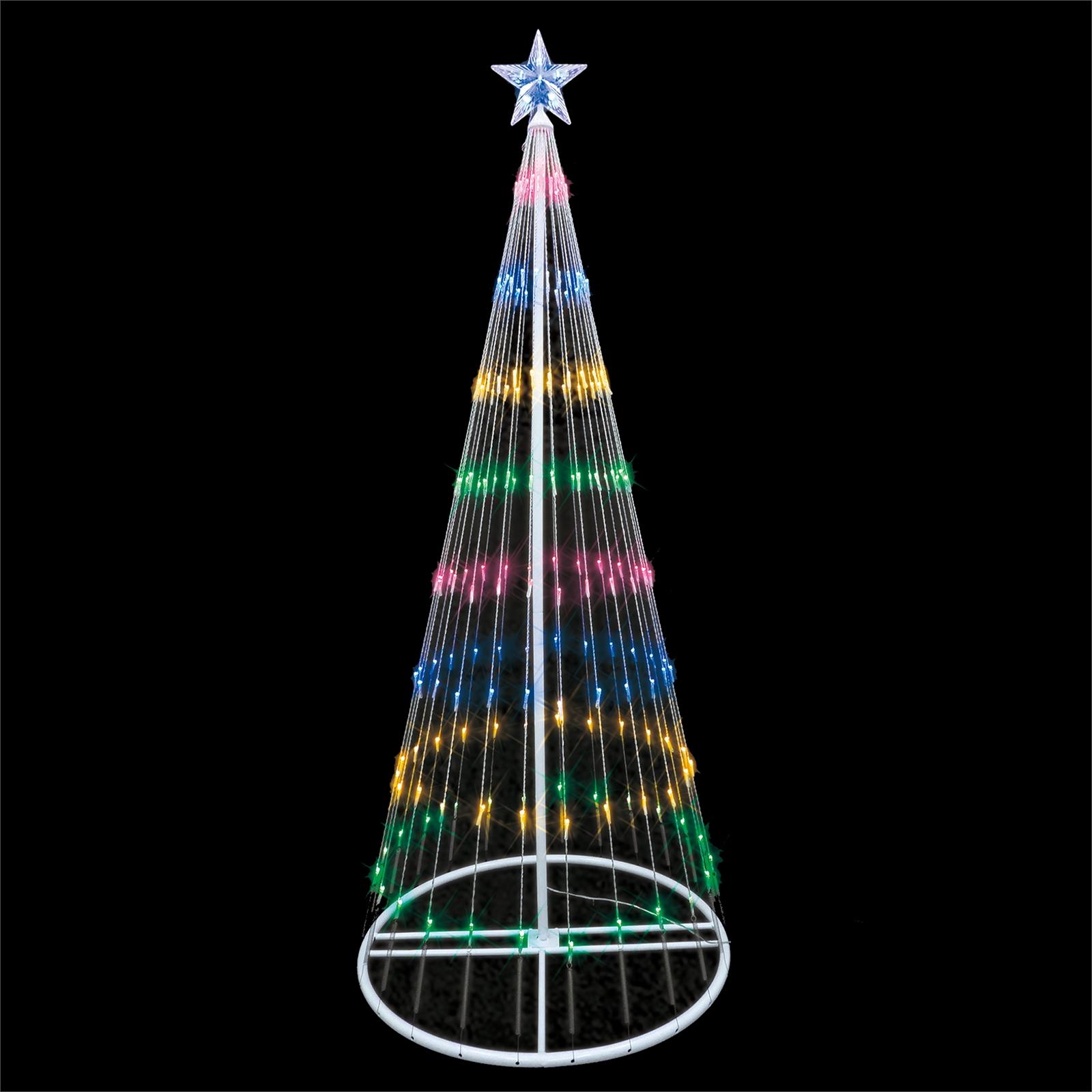 5ft multi coloured Dancing LED Light Tree Silhouette at Homebase for £35 (free C&C)