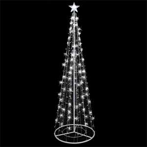 8ft LED Light Tree Silhouette - £25 Homebase free Click & Collect