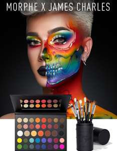 James Charles Mini Palette and Eye Brush Set now £58 @ Morphe also Jeffree Star, Manny MUA, Jaclyn Hill bundles reduced
