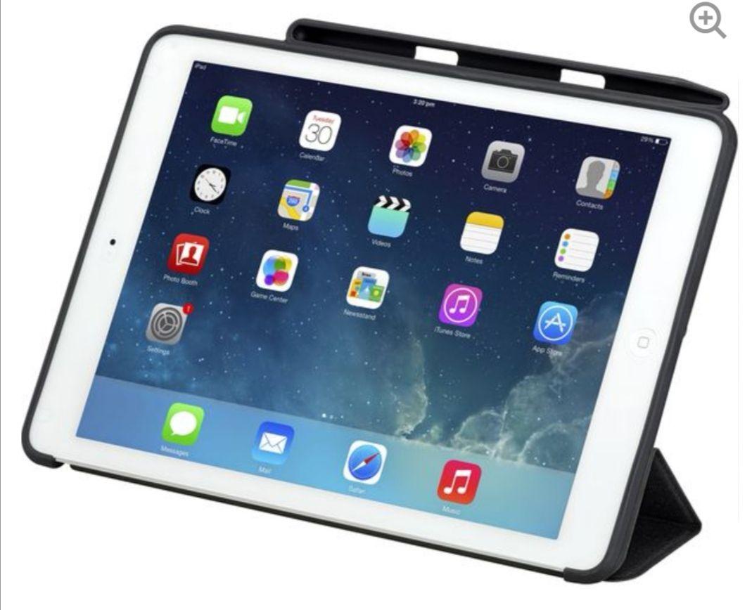 "SANDSTROM9.7"" iPad Smart Cover with Pen Slot - Black - £3.97 delivered @ Currys"