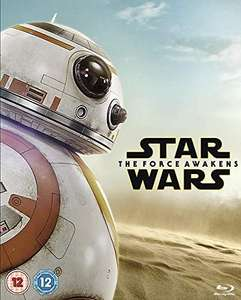 Star Wars: The Force Awakens Blu Ray - £4.58 (Prime) £7.57 (Non Prime) @ Amazon